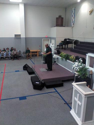 Ebenezer Church Service on March 8